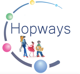 Hopways-coivoiturage-enfants-logo